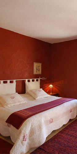 Le Catalan - La chambre rouge 2 personnes
